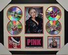 PINK 4CD SIGNED FRAMED MEMORABILIA LIMITED EDITION