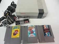 Super Mario bros 1 2 3 Nintendo NES Video Game System Console PAK