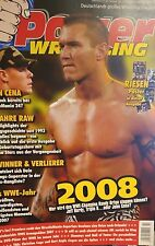 Power Wrestling Magazin 02/2008 WWE WWF + 4 Poster (NWO 08, Shawn Michaels)