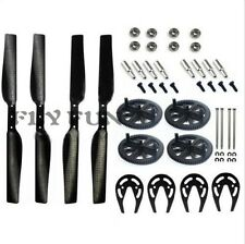 Carbon Fiber Propeller+Gears+ Gear Guard+Bearing For Parrot AR Drone 2.0 Parts