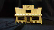 O Scale Bank Store Front Kit Model Railroad Train Building On30 Scale