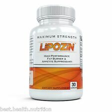 BEST Diet Pill HARDCORE Weight Loss Hoodia Fat Burner LIPOZIN - Rated #1 of 2014
