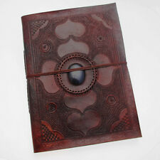 INDRA Fair Trade handmade XL toppa lapidate leather photo album