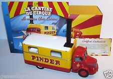 DIREKT COLLECTIONS LE CAMION UNIC ZU51 CUISINE CIRQUE PINDER 1952 1/43 IN BOX