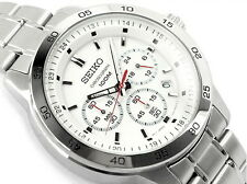 Seiko Men's Quartz SKS515P1 100M Chronograph Date Watch