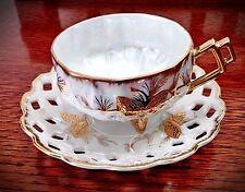 Beautiful Vintage Collector Nasco Del Coronado Bone China Cup & Saucer