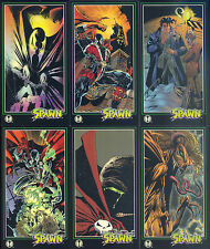 SPAWN WIDEVISION 1995 WILDSTORM COMPLETE BASE CARD SET OF 152