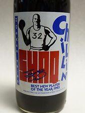 1993 PEPSI Shaquille O'Neal SHAQ P.O.Y. 12 oz. Long Neck Bottle SIGNED !