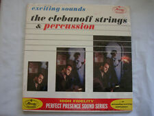 EXCITING SOUNDS THE CLEBANOFF STRINGS & PERCUSSION - PPS 2012 - ~SEALED~