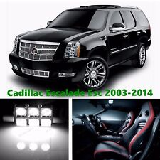 18pcs LED Xenon White Light Interior Package Kit for Cadillac Escalade ESV 2014