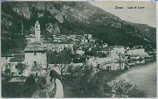 CARTOLINA d'Epoca LECCO - Onno  1916
