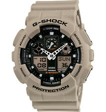 Casio G-Shock Mens Military Sand Tan/Beige/FDE/Coyote Watch GA100SD-8A