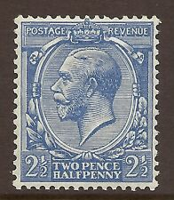N21(2) 2½d Cobalt Violet Blue Royal Cypher UNMOUNTED MINT/MNH
