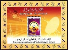 Yemen Republic 2004 ** Bl.41 Kommunikation Internet