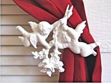 Shabby n Chic Cherub Curtain tie backFurniture Applique