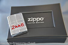 awesome ZIPPO Annual 2006 - Armor case lighter - sold out worldwide - rare mint