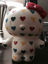 "Hello Kitty Rainbow Hearts Vinyl Coin Bank 8"" Figure Sanrio Urban Outfitters"