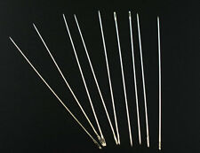 20 x Beading Needles Threading String Or Cord Jewelry Tool 0.45 x 80mm
