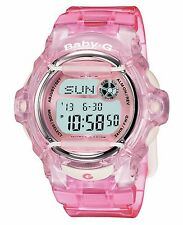 Casio Women's BG169R-4 Baby-G Pink Jelly Digital Watch
