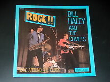45  tours EP - BILL HALEY AND THE COMETS - ROCK AROUND THE CLOCK - 1973