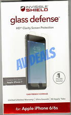 NEW ZAGG InvisibleShield Tempered Glass iPhone 6, 6s, 7, & 7s (4.7) IP7GDC