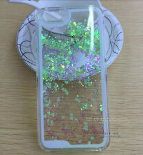 Glitter Heart Liquid Shockproof Quicksand Phone Case Fits iPhone & Samsung Cover