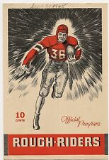 1945 Ottawa Rough Riders-Argonauts IRFU Exhibition Program Rare!!