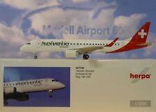 Herpa Wings 1:200  Embraer E190  Helvetic Airways HB-JVR  557726