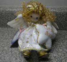 Green Tree Musical Doll  - GET WELL SOON ANGEL 980-28 Plays Ave Maria