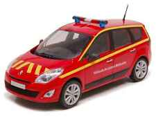 RENAULT GRAND SCENIC EMERGENCY 1:43 FRENCH FIREFIGHTER SOLIDO DIECAST MODEL CAR