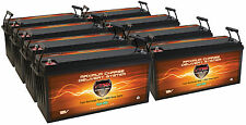 QTY8 Solar Home PV Wind VMAX SLR200 AGM Maint Free Deep Cycle 1600AH Batteries