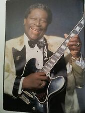 BB King Image 21 x 15cm Ideal to Frame 2000's Blues Gibson Lucille