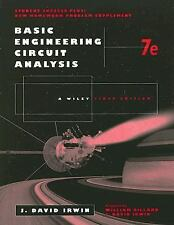 Basic Engineering Circuit Analysis 7th Edition, Problem-Solving Companion