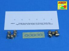 Aber smoke dischargers for rear grenade racks for German tanks 1/16 scale