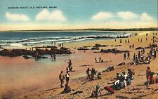 Old Orchard Beach, , ME Goggins Rocks postcard  unposted