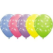 Party Supplies Birthday Animals Picnic Butterflies & Dragonflies  Balloons Pk10