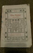 Antique 1909 SILAS MARNER by George Eliot PAPERBACK Excelsior literature series