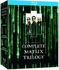 "THE MATRIX THE COMPLETE TRILOGY 3 DISC BOX SET BLU-RAY REGION B ""NEW&SEALED"""