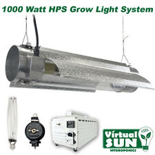 Virtual Sun 1000W HPS Cool Tube Reflector Grow Light Lamp Kit System - 1000