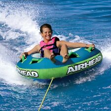 "Airhead Slide Inflatable 56"" Water Tube 1 Person Rider Boat Tow Towable AHSL-12"