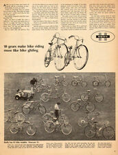 1950s vintage AD HUFFY Bicycles 10 speed 55 models 15 bikes shown 102115