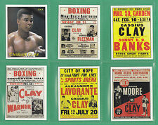 BOXING  -  SPORTING PROFILES - SET OF L 16 CASSIUS  CLAY BOXING CARDS  -  2002