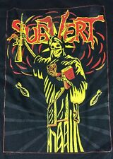 Subvert Band T Shirt Free Your Mind Album XL VTG Thrash Hardcore Pink Rock Tee