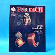 DDR FÜR DICH 12/1989 Mansfelder Land Ungarn Budapest Marita Meier-Koch Mode