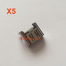 Lot of 5  HDMI Port Socket Connector New Replacement  for Playstation 4 PS4
