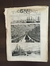 """""""THE GRAPHIC"""" (A Beautifully Illustrated British Weekly Newspaper)-Sep, 17 1881"""