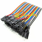 40PCS Dupont Wire Color Jumper Cable 2.54mm 1P-1P Male to Female 20cm