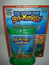 THE AMAZING LIVE SEA-MONKEYS MARINE ZOO GREEN TANK (BRAND NEW)