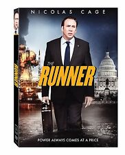 The Runner (DVD, 2015) NEW Nicolas Cage Action, Adventure  NOW SHIPPING !
