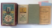 c.1890 Old Tarot Egyptien Grand Etteilla B.P. Grimaud 78 Cards RARE Paris France